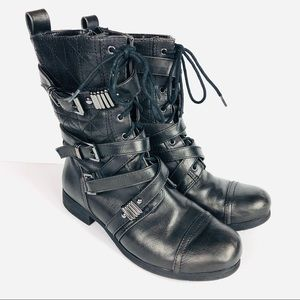 Rock & Republic Josie Moto Buckle Boot